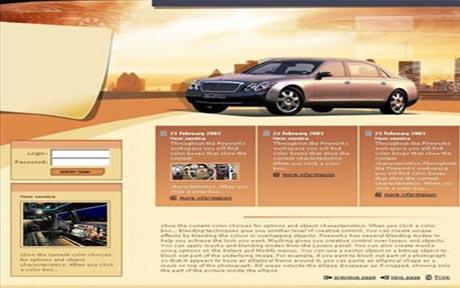 Web template1